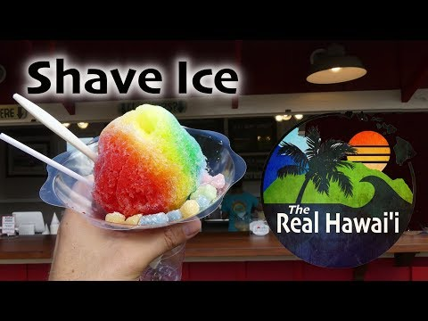 The Real Hawaii: Aoki's Shave Ice