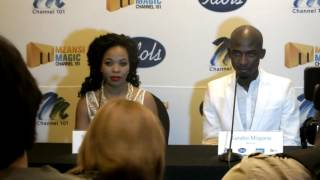 Question and Answer session for Mmatema Moremi and Karabo Mogane