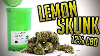 LEMON SKUNK 12% CBD | UK LEGAL CBD WEED | HempElf