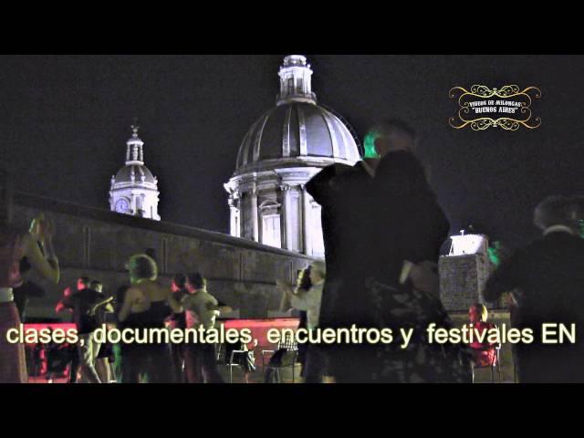 Sicilia Catania   Milongueando en la cupula en Milonga del Museo Diocesano   Tango en Italia