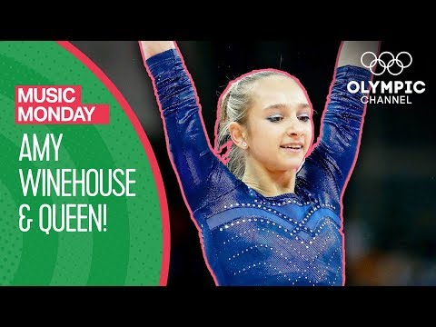 Victoria Komova performs to a medley of Queen & Amy Winehouse! | Music Monday