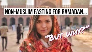 I Tried Fasting for Ramadan (Non-Muslim)