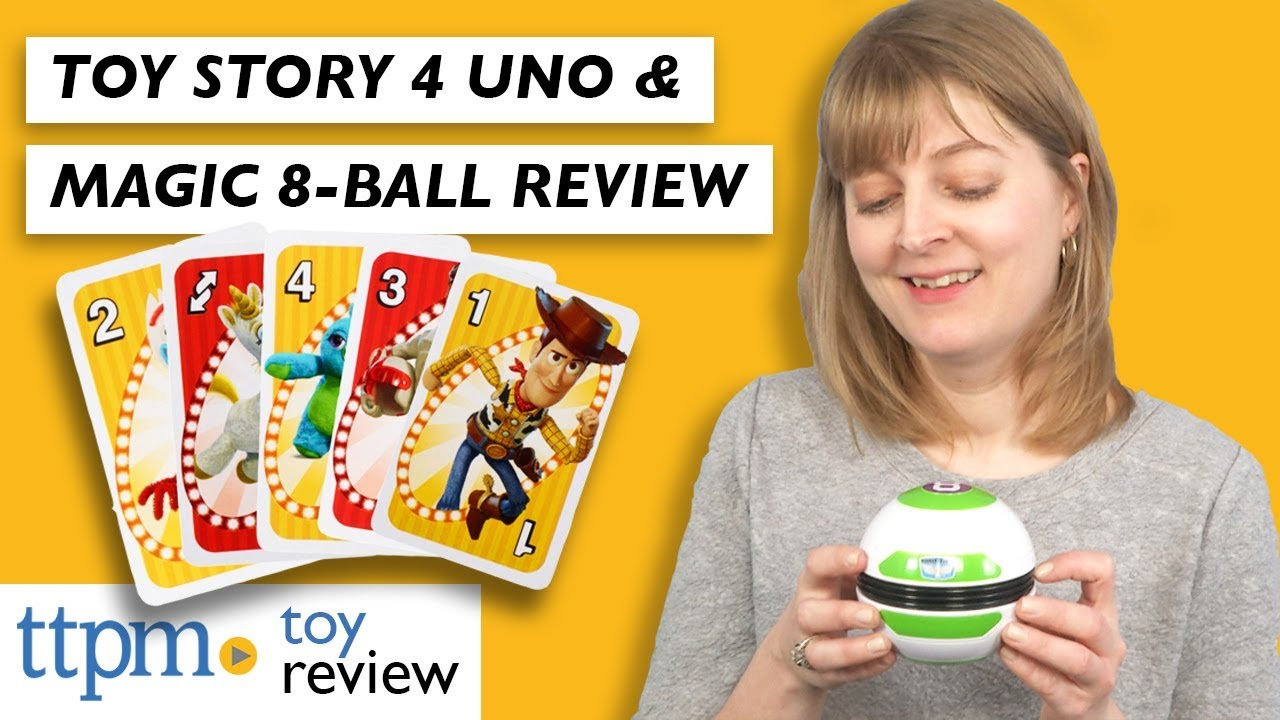 Toy Story 4 UNO from Mattel