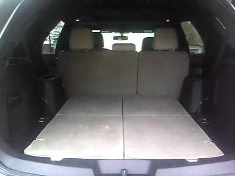 ford explorer power rear seats youtube. Black Bedroom Furniture Sets. Home Design Ideas
