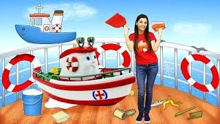 Корабли и Море - Детский клип - Сборник песен для детей