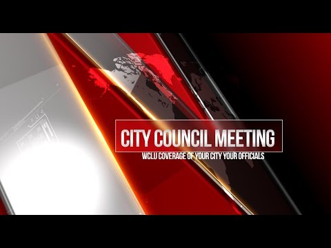 Glasgow City Council Meeting LIVE on WCLU (3/12/18)
