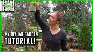 My DIY Jar Garden Tutorial! #StayHome #WithMe | Ronda Rousey