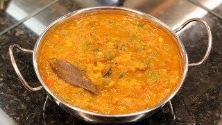 Veg kurma | Vegetable kurma for Chapathi, Parotta | Mixed vegetable kurma | Crafts And Kitchen
