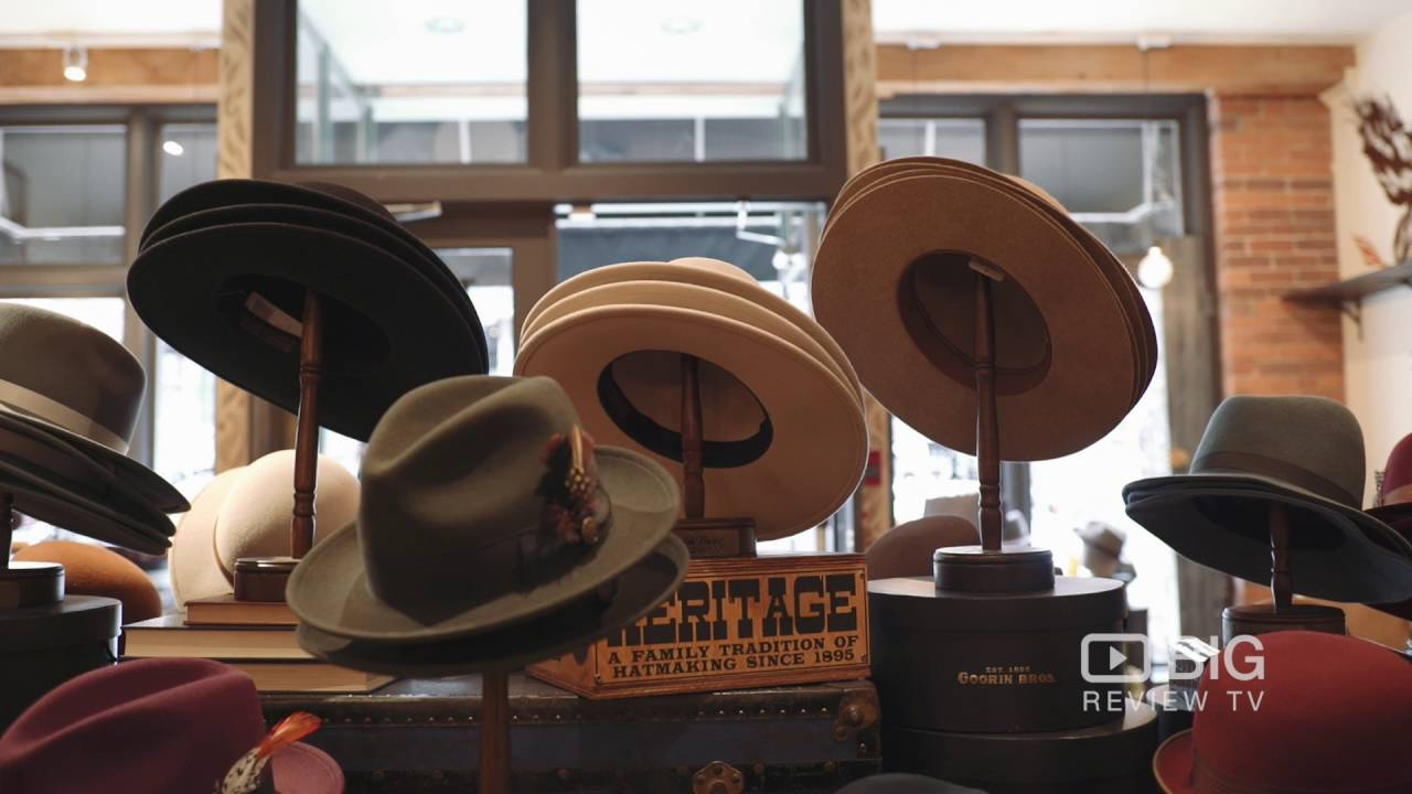 fc727943 Goorin Bros Hat Shop a Retail Stores in Vancouver offering Hat - YouTube