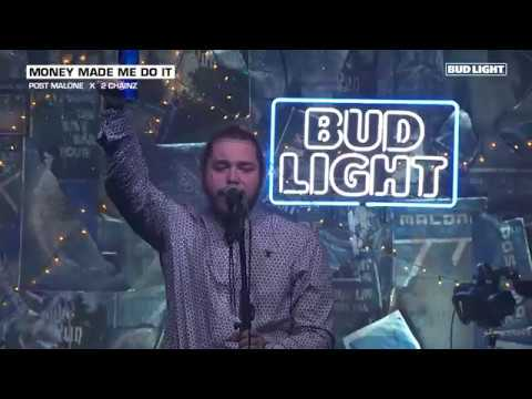 Post Malone - Money Made Me Do It (Live From The Bud Light x Post Malone Dive Bar Tour Nashville)