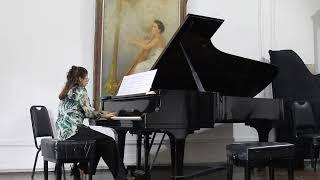 Sonata de Gabriel Lucena - Interpretação Professora Tamara Ujakova