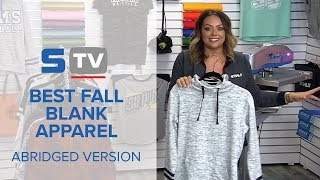 Best Fall Blank Apparel - Abridged Version