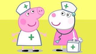 Peppa Pig Français Infirmière Suzy | Dessin Animé Pour Enfant #PeppaPigEnFrancais