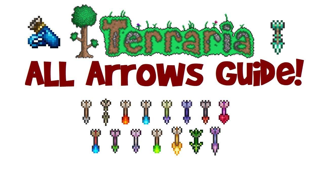 Terraria All Best Arrows Guide Arrow Recipe That Pierce Wiring 1 2 Infinite