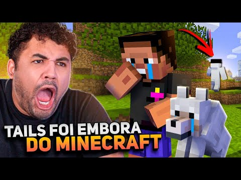 O TAILS FOI EMBORA! - MINECRAFT S02 #89