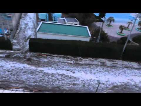 Tsunami in Hasunume, Chiba Prefecture