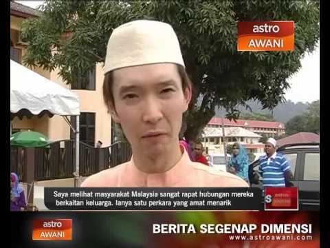 Warga Jepun Cemburu Semangat Kekeluargaan Di Malaysia