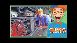 Busses for Children with Blippi | The Blippi Bus Song for Kids