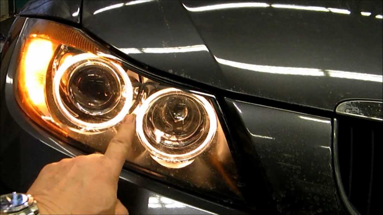 Replacing A Bmw Daytime Running Light Youtube