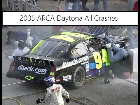 All Crash Parts >> All Arca Crashes From The 2005 Advance Discount Auto Parts 200 Youtube
