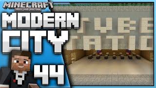 Minecraft Xbox One : Building a Modern City(EP.44) - Finished Tube Station