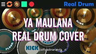 Video YA MAULANA - SABYAN GAMBUS REAL DRUM COVER download MP3, 3GP, MP4, WEBM, AVI, FLV Juli 2018