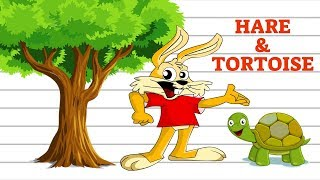 Story Drawing : Hare and Tortoise Story | Aesop