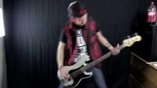 "Thousand Foot Krutch - ""Falls Apart"" Bass Cover by Josh Lyons."