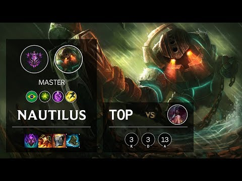 Nautilus Top vs Akali - BR Master Patch 10.10