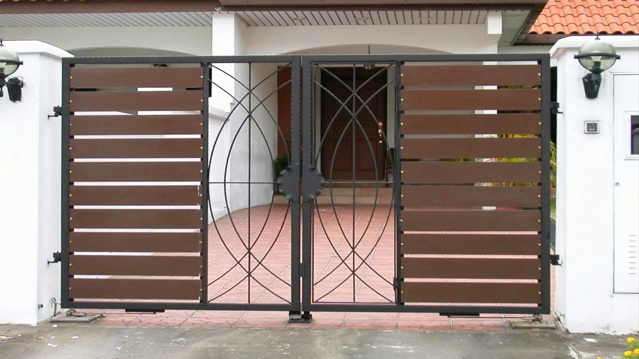 Home Gate Designs Photos Gate Home Design YouTube - Home Gate Design