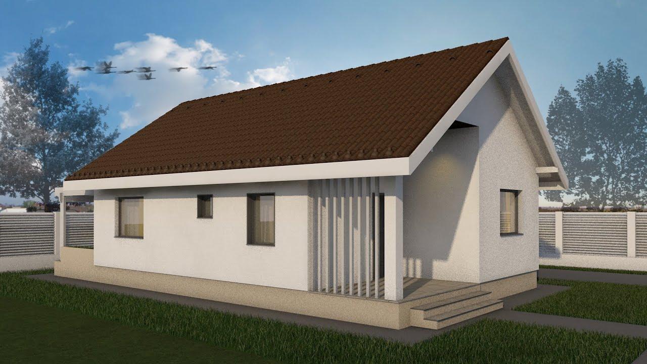 Proiect Casa Elysium Parter 2 Camere 62 Mp V2 Youtube