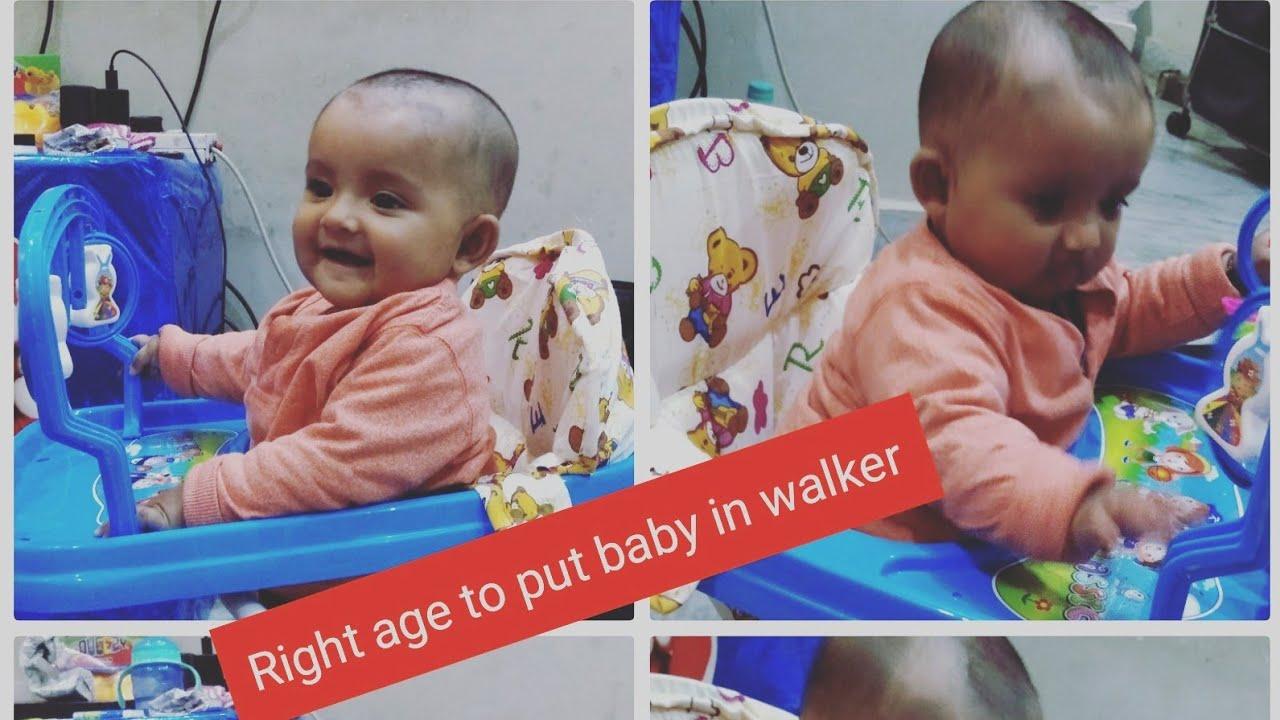 42f353ec0 When to Start Using Baby Walker for Your Baby !! Is Baby walker good ...
