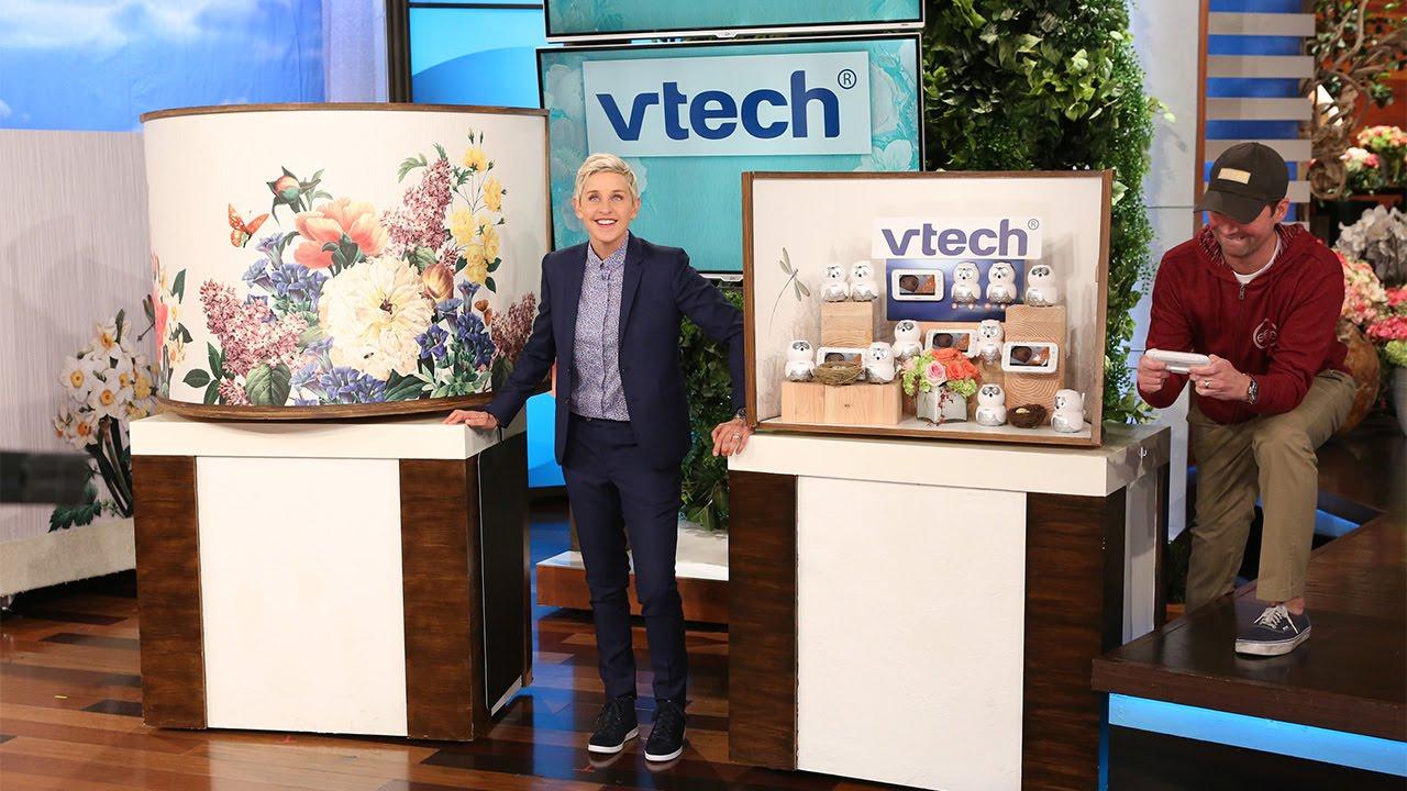 Ellen degeneres giveaways show