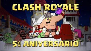 Clash-A-Rama: ¡Ceremonia de premios del 5º Aniversario de Clash Royale!
