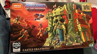 Mega Construx Castle Grayskull unboxing !!!