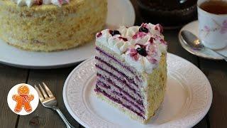"Творожный Торт ""Анютины Глазки"" ✧ Cottage Cheese Cake (English Subtitles)"