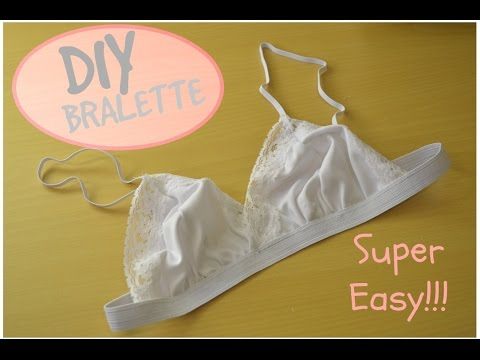 5517bb9f7b How to sew a Lace Bralette