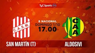San Martin de Tucuman vs Aldosivi full match