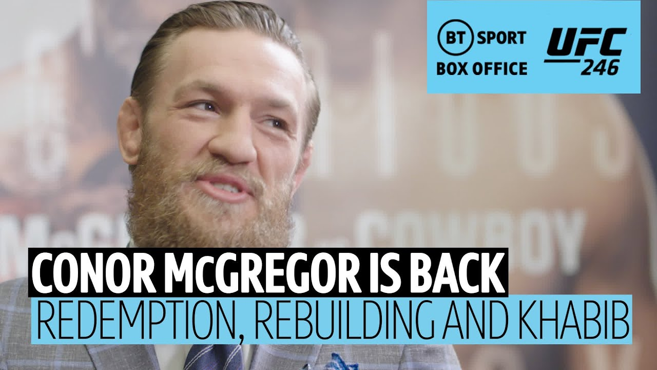 I Need Mma It S A Deep Rooted Passion In Depth With Conor Mcgregor Ahead Of Ufc 246