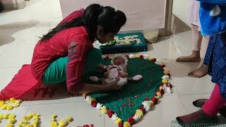 Chatti Puja : 6th Day Ceremony (Naming ceremony) using filmic pro and zhiyun smooth 4