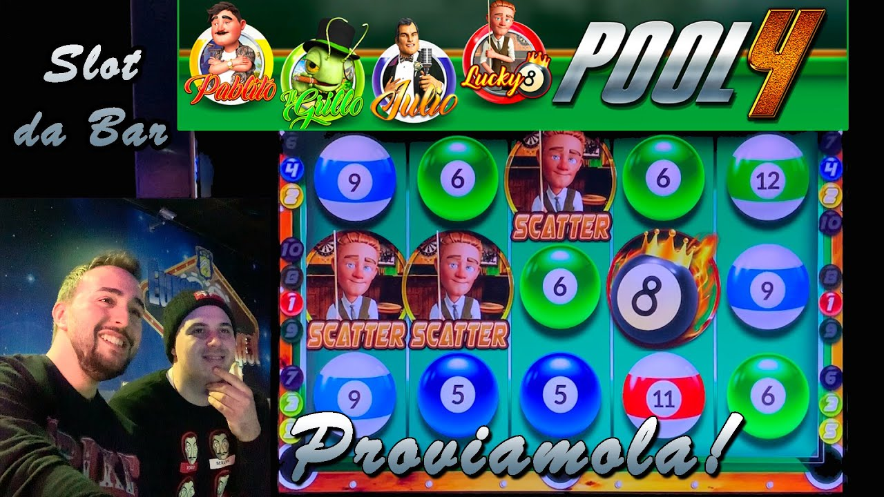 SLOT MACHINE da BAR - Proviamo la POOL 4?? (Multigioco Vital Games)