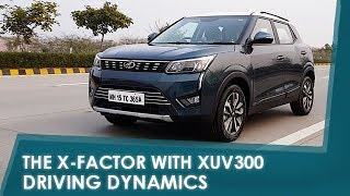 Sponsored - The X-Factor with XUV300: Driving Dynamics | NDTV carandbike