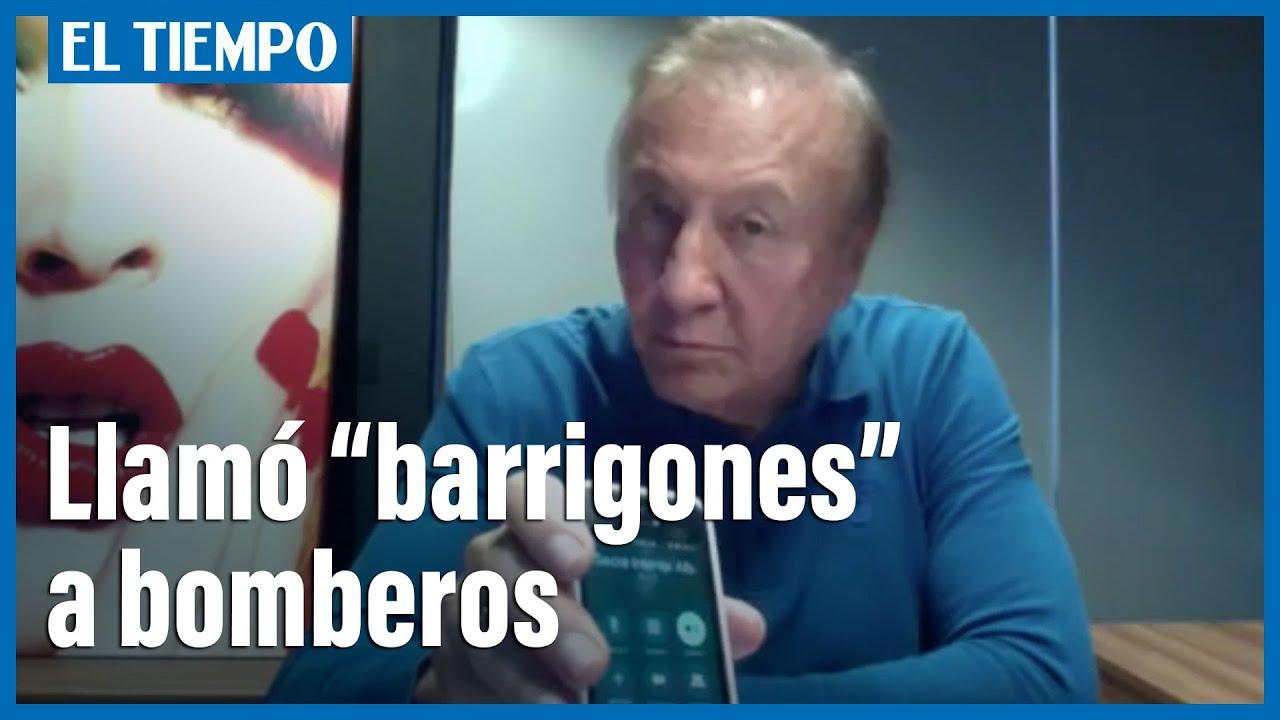 """Bomberos molestos porque los llaman """"Barrigones"""""""