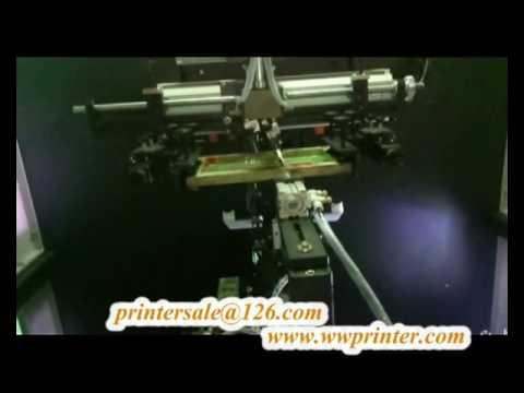 cosmetic cap/lipstick auto screen printing machine PT12