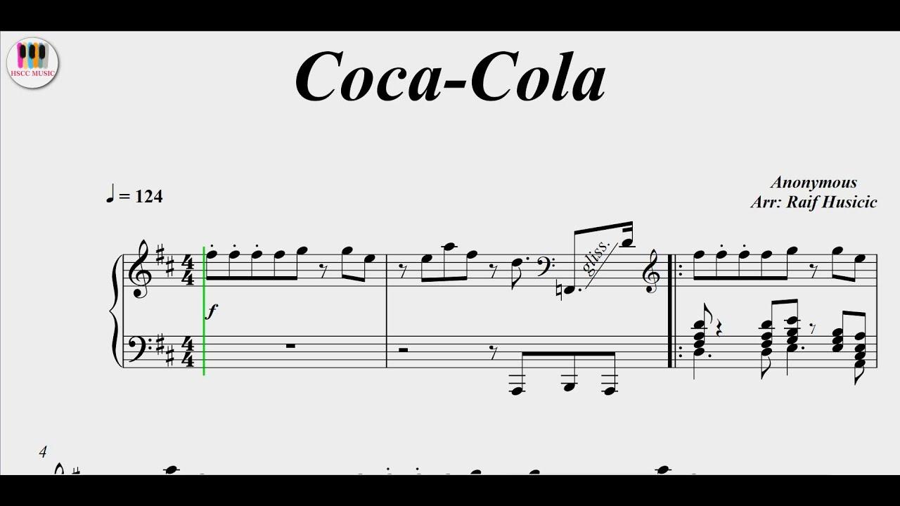 Coca-Cola, Piano
