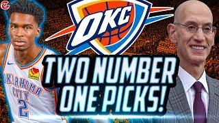 BACK TO BACK NUMBER ONE PICKS! OKC THUNDER REBUILD! NBA 2K20