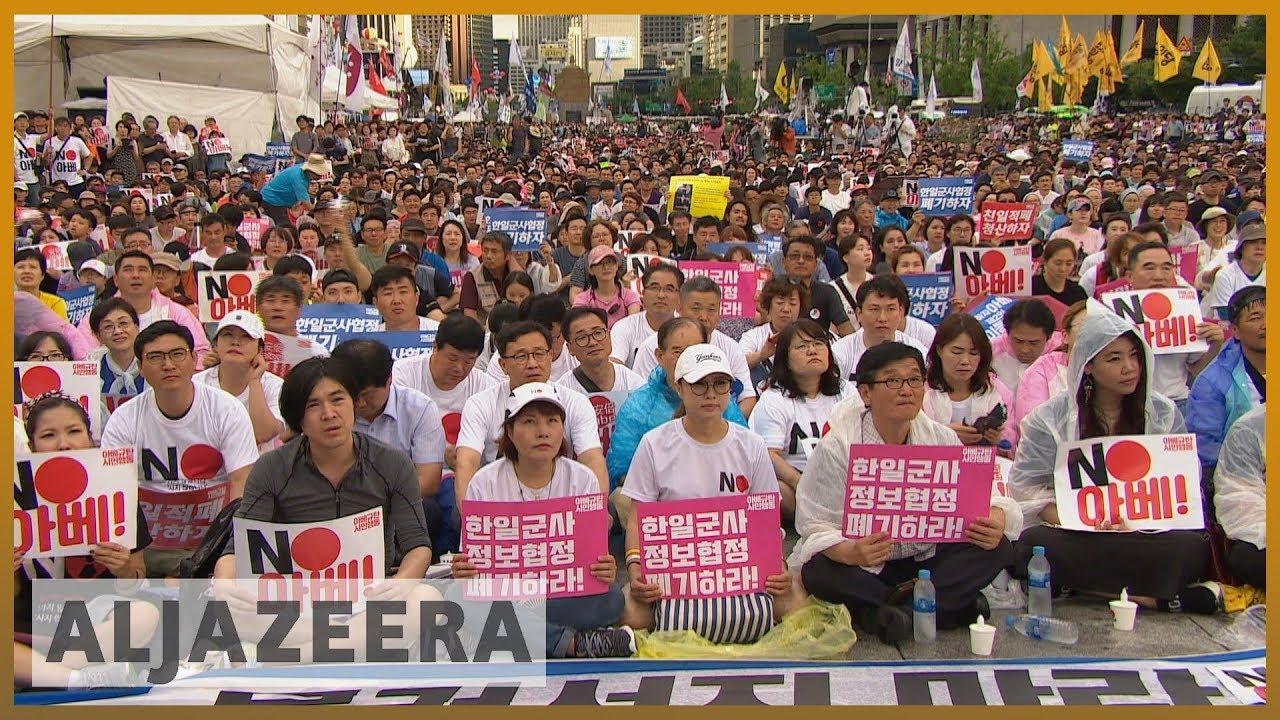AlJazeera English:South Koreans mark anniversary of end of Japan's colonial rule