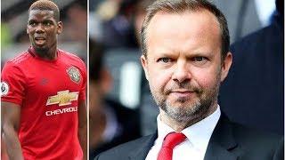 Man Utd chief Ed Woodward feared fan backlash if Paul Pogba sealed Real Madrid transfer- transfer...
