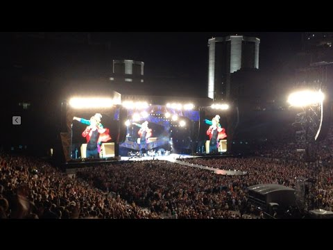 The Rolling Stones - Hang On Sloopy / Paint It Black - Ohio Stadium Columbus, OH ZIP Code Tour 2015