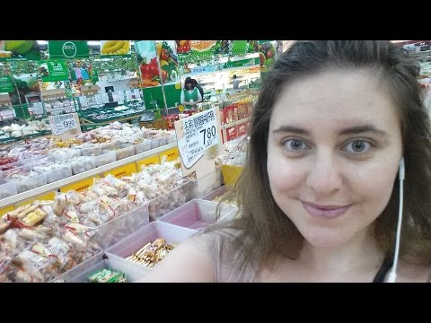 An aupair in China daily life and a chinese supermarket vlog